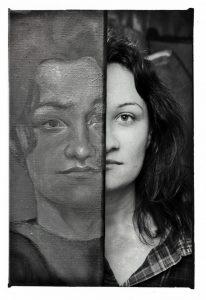 portret artystki