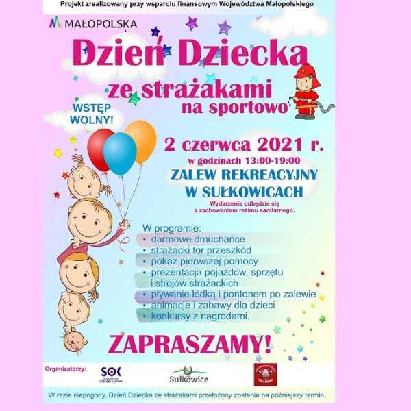 plakat - Dzień Dziecka