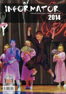 Okładka informator 2014